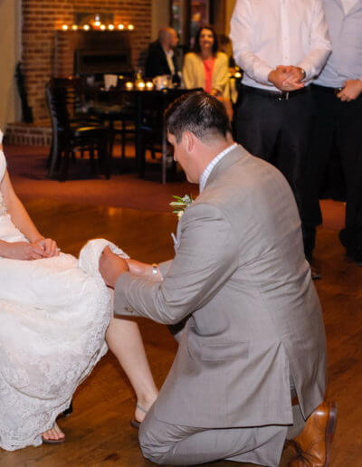 Gina Petersen Photography - Wedding couple at Rancho Nicasio